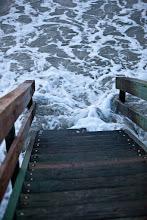 Photo: the tide was pretty high