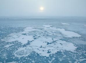 Photo: Ice, Wind & Sun