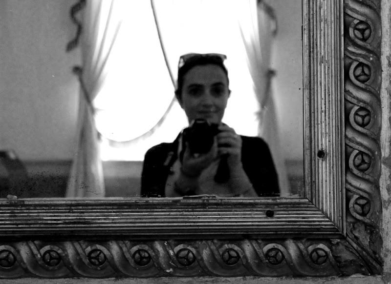 selfie sfocato di simotuttergreen