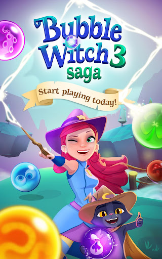 Bubble Witch 3 Saga screenshot 17