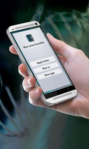 玩免費個人化APP|下載ブルー渦 TouchPal app不用錢|硬是要APP