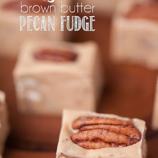 Easy Brown Butter Pecan Fudge