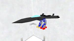 なにかのアニメで見たはずの戦闘機足付き