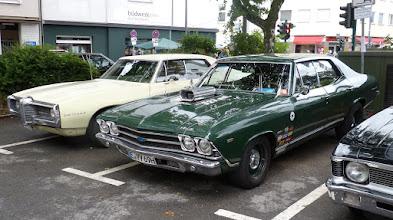 Photo: Pontiac Le Mans & Chevrolet Chevelle