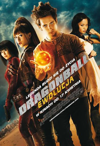 Polski plakat filmu 'Dragonball: Ewolucja'