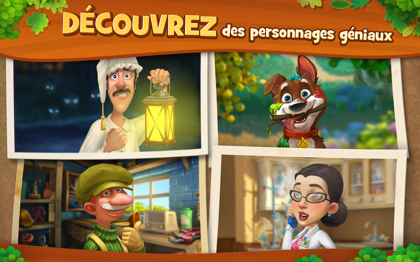 Gardenscapes – Capture d'écran