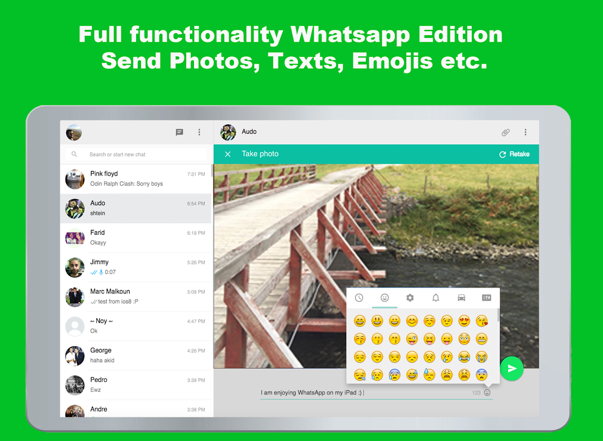 Screenshots of Messenger for Whatsapp for Android