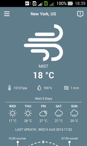 天氣世界 - 中國