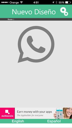 New design for WhatsApp