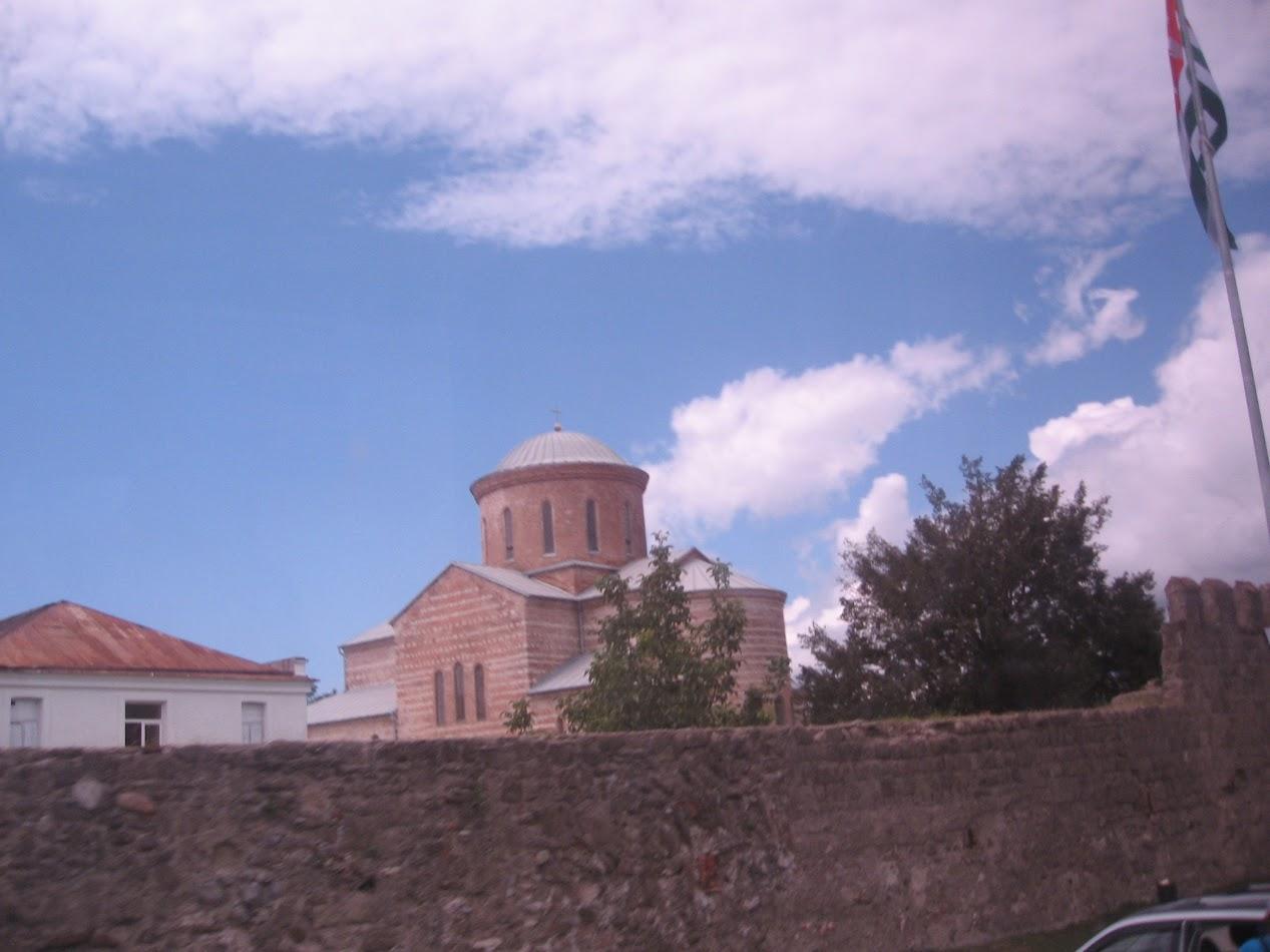 Абхазия древний храм