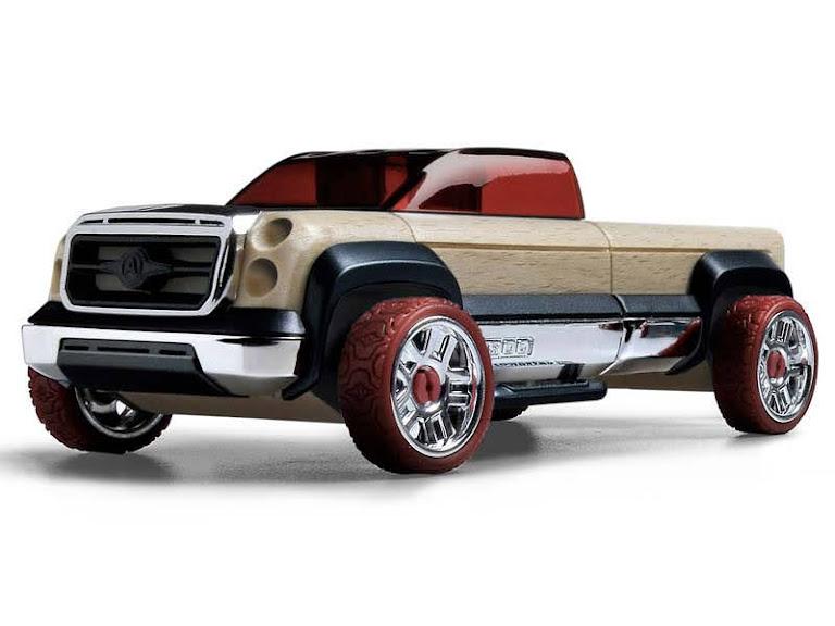 Contenido de Automoblox® T900 Truck Maroon