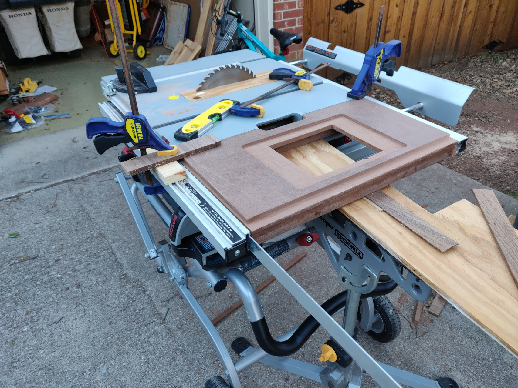 Exit The Fast Lane Jobsite Table Saw Router Extension
