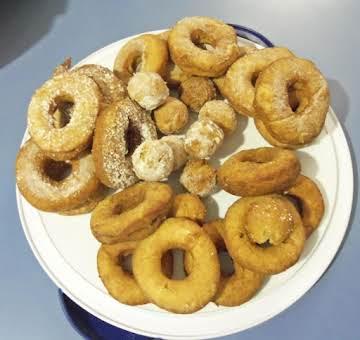 *Mashed Potato Doughnuts*