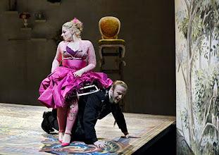 Photo: Wiener Kammeroper: GLI UCCELLATORI von Florian Leopold Gassmann. Inszenierung: Jean Renshaw. Premiere 22.3.2015. Frederikke Kampmann, Vladimir Dmitruk. Copyright: Barbara Zeininger