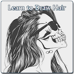 Learn to Draw Hair Icon
