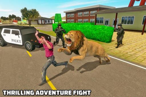 Angry Lion Sim City Attack screenshot 3