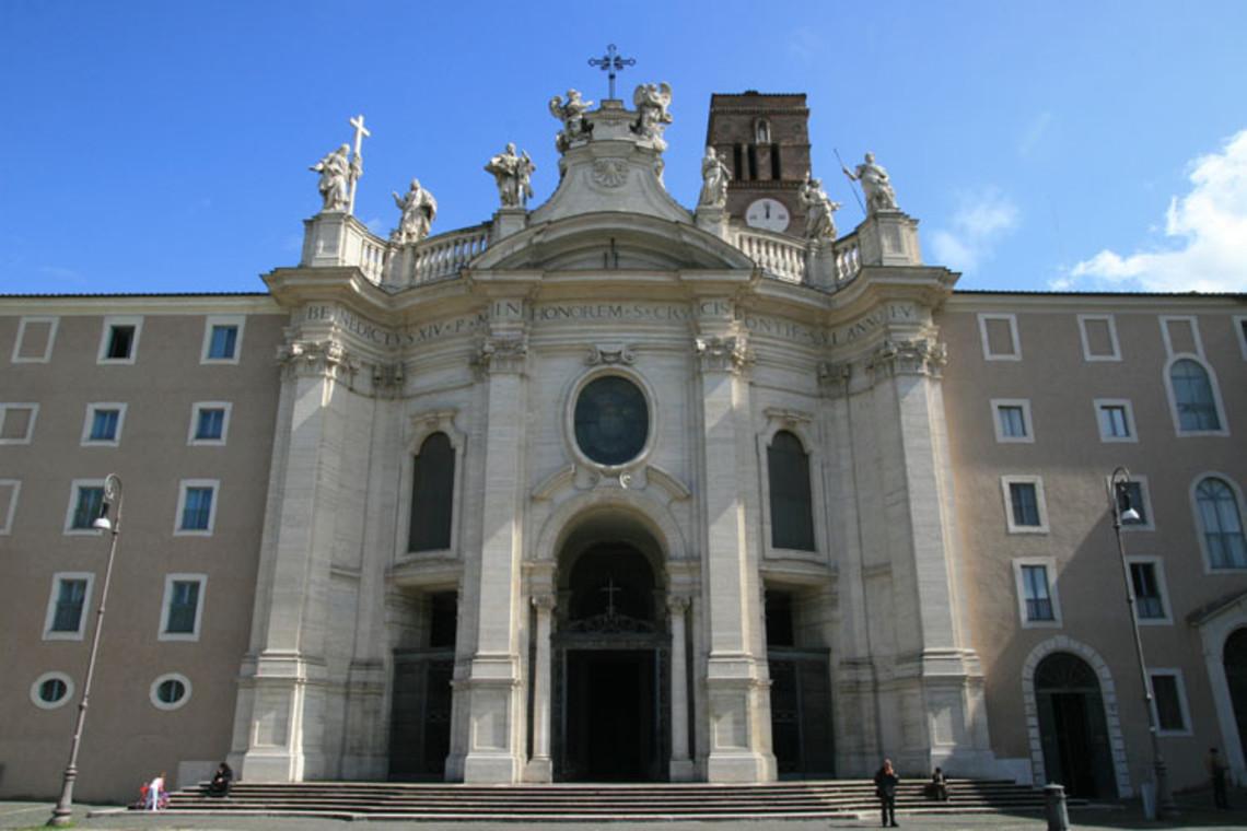 Đây là nhà thờ sở hữu những thánh tích Thánh Helena mang về từ Đất Thánh