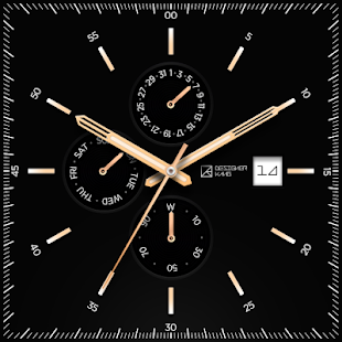 BlackTie watchface by DesignerKang Screenshot