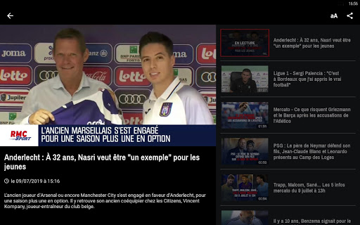 RMC ud83cudf99ufe0fInfo et Foot en direct - Radio & Podcast 4.1.0 screenshots 19