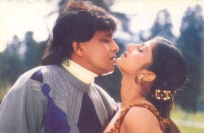 2. Sridevi and Mithun Chakraborty