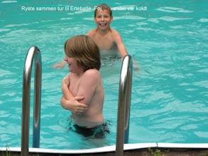 """Photo: """"Ryste-sammen-tur"""" til Ertebølle. Føj... Vandet var koldt!"""