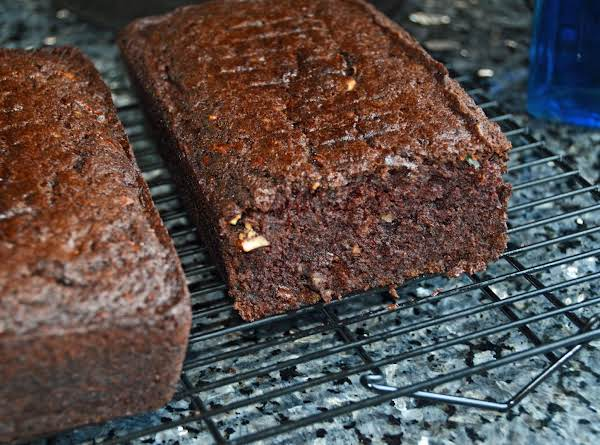Chocolate Zucchini Cake Bread Recipe