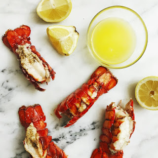 Jan 12 BROILED LOBSTER TAILS.