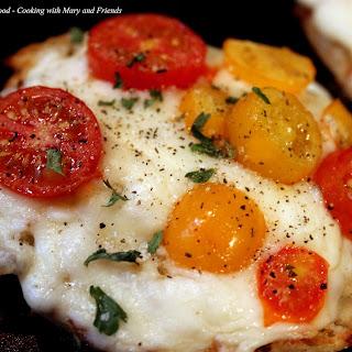 Heirloom Tomato Bruschetta or Mini Pizza