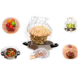 Oferta 1+1 Gratis. Cos multifunctional 12 in 1 Chef Basket