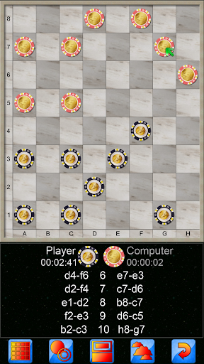 Checkers V+, online multiplayer checkers game 5.25.66 screenshots 5