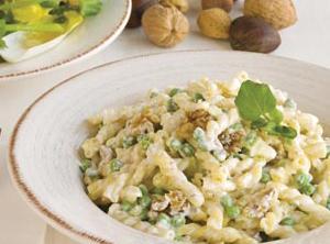 Bow Tie Pasta With Gorgonzola And Toasted Walnuts Recipe