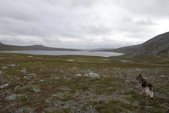 Kuva: Matka jatkui Toskaljärven länsipuolelle