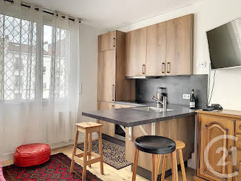 Appartement meublé 2 pièces 27,47 m2