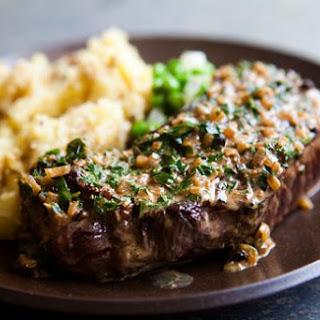 Peppercorn Steak.