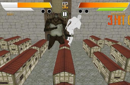 Battle of Titan Fighting Games