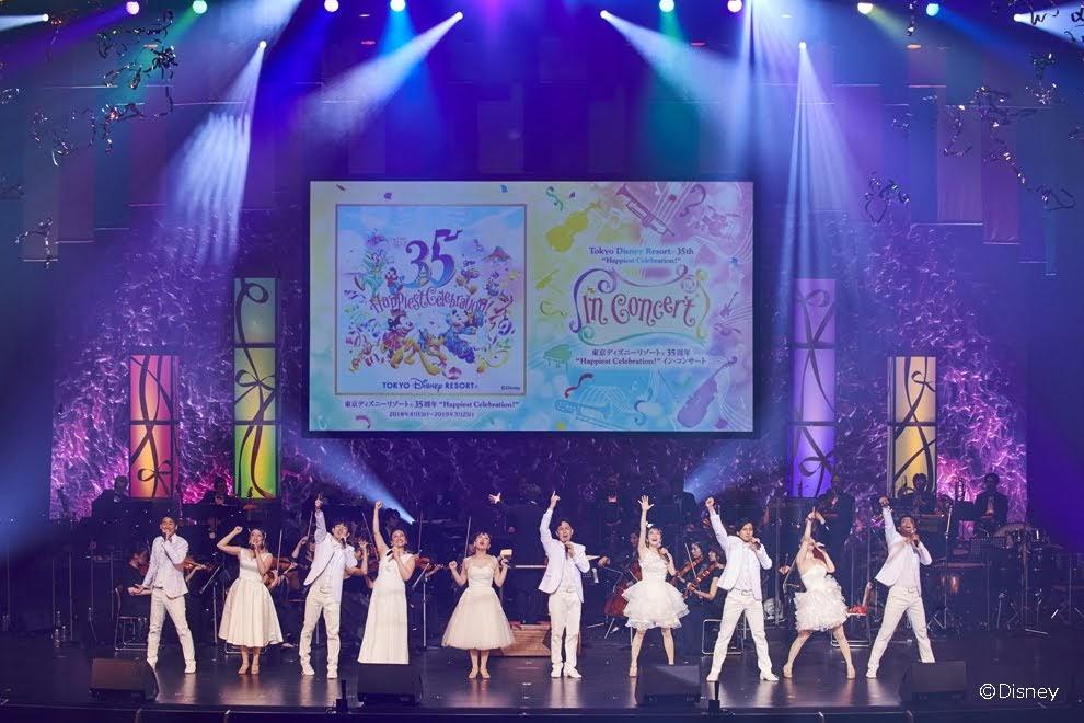 """[迷迷音樂] 日本最夢幻的迪士尼音樂會 「歡慶35週年~東京迪士尼度假區®""""Happiest Celebration!""""音樂會」明年一月登台"""