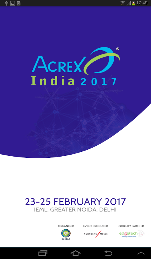 Acrex India 2017- screenshot