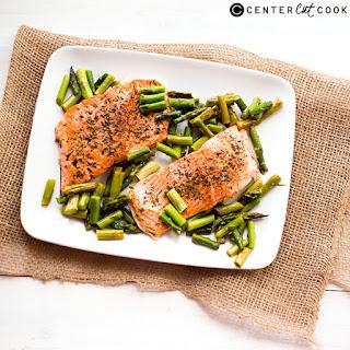 One Pan Herb-Roasted Salmon.