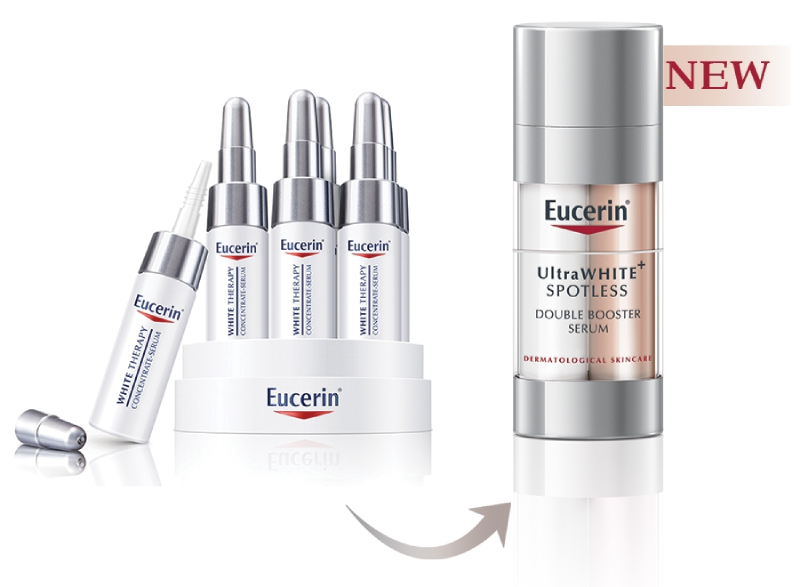 Serum trị nám Eucerin Ultra White Spotless Double Booster