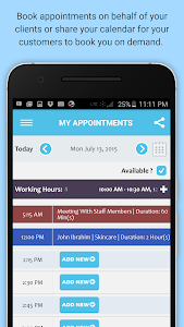 Appointment & Schedule Manager screenshot 8