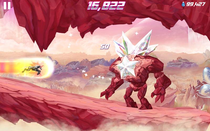 Robot Unicorn Attack 2 Screenshot 10