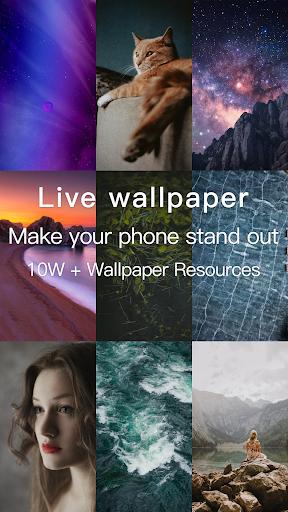 Live Wallpaper 4K screenshot 1