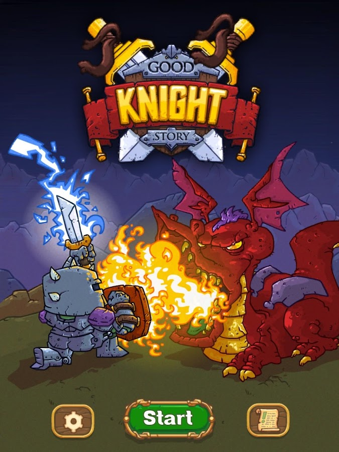 Good Knight Story- screenshot