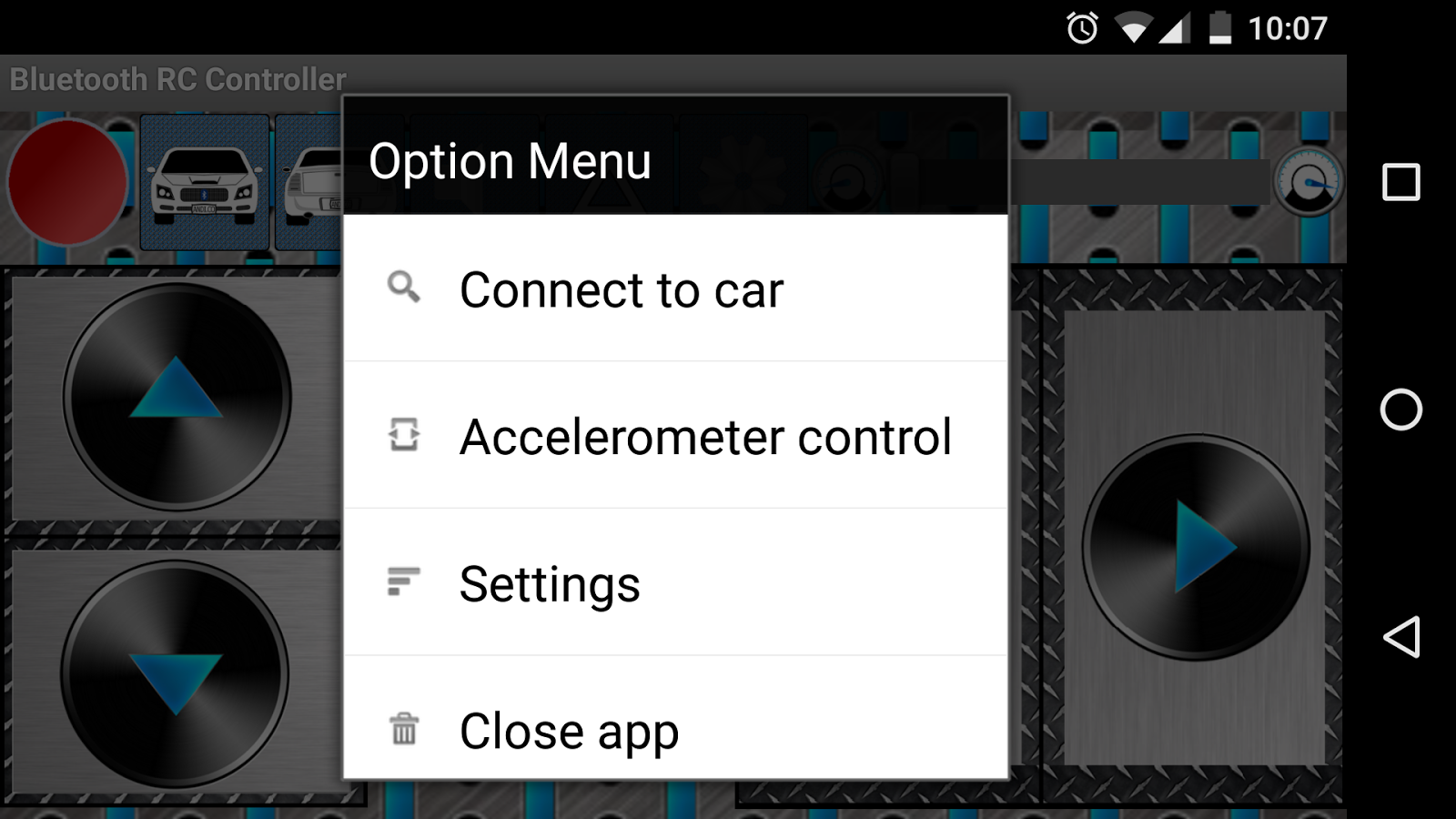arduino bluetooth rc car android apps on google play