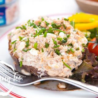 Low-Fat Tuna Cheese Jacket Potato Recipe