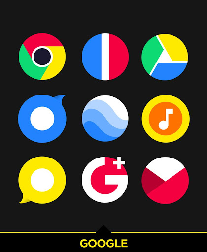 Screenshot for Simplicon Icon Pack in United States Play Store