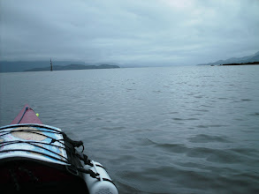 Photo: June 16 - Heading out of Oona River and looking southeast down Grenville Channel.