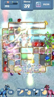 Frozen Dragon Gems - Match 3- screenshot thumbnail
