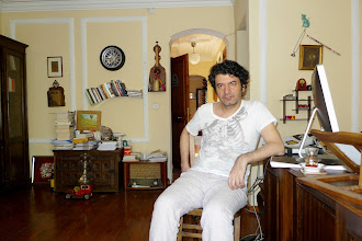 Photo: Abdullah Keskin, director of Avesta Publishing House, Istanbul, 2011