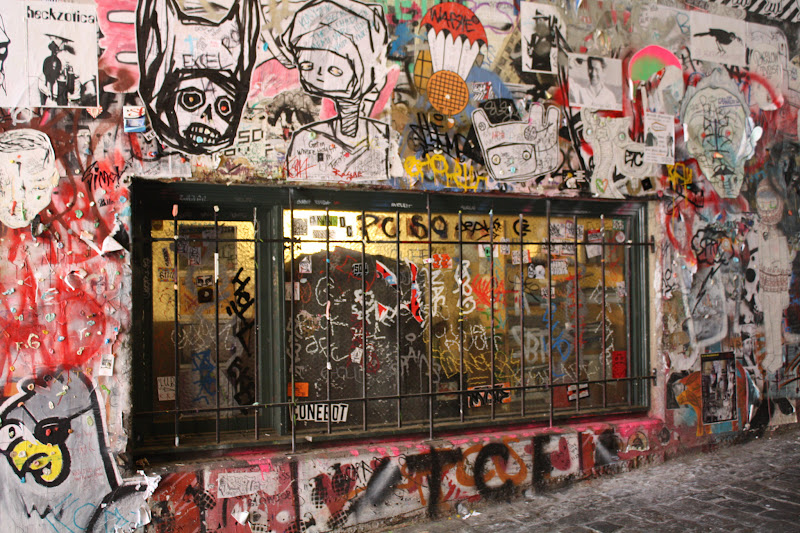 Photo: Sharing some Urban Graffiti I saw in Seattle, Washington last week for +#Window Wednesday today.  #windowwednesday #graffitistreetart